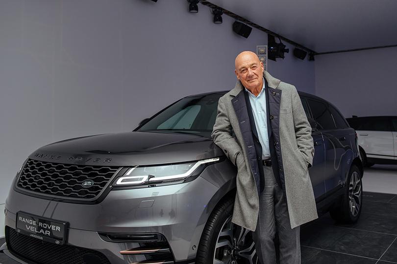 Российская премьера Range Rover Velar вМузее Москвы: Владимир Познер