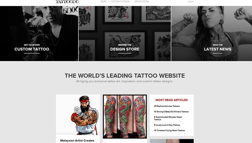 Сайт для поклонников татуировок привлек 2,5 млн долларов инвестиций