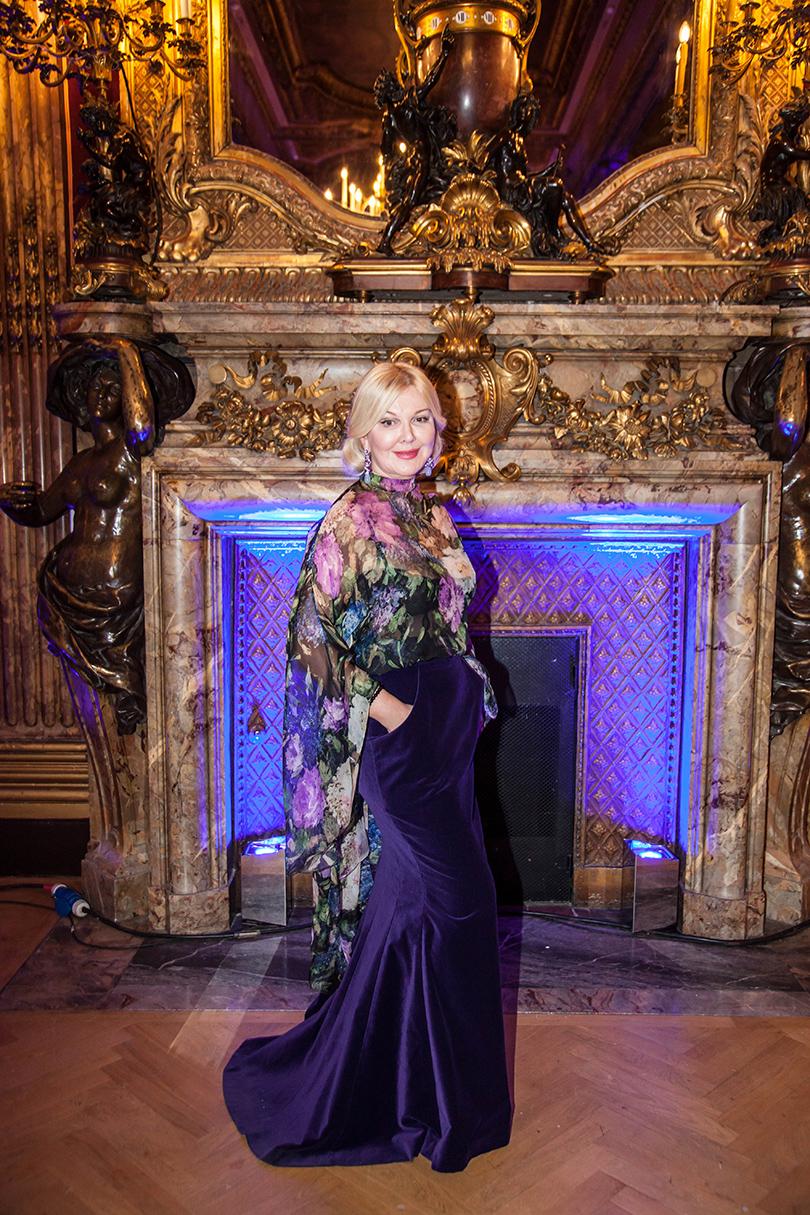 Гала-ужин Yanina Couture в Париже. Юлия Янина