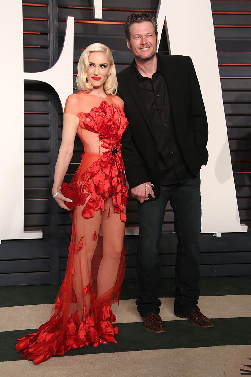 Самые важные светские вечеринки «Оскара»: афтепати Vanity Fair — Гвен Стефани и Блейк Шелтон