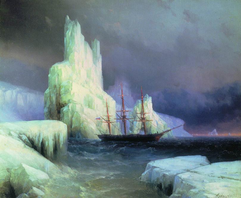 Art & More: все, что вы хотели знать об Айвазовском, но боялись спросить. «Ледяные горы вАнтарктиде»