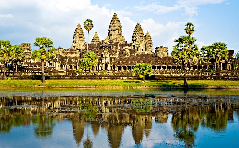 Анкгор-Ват в Камбодже