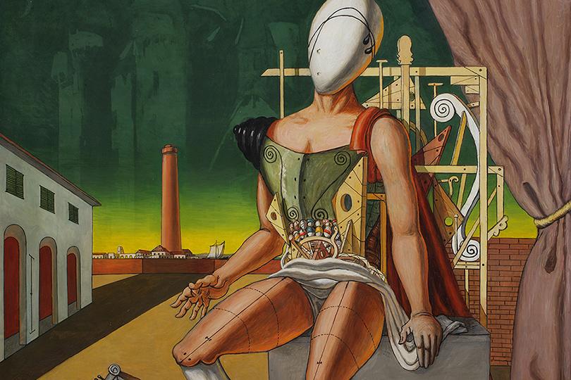 Выставка «Джорджо деКирико. Метафизические прозрения» Третьяковская галерея  20апреля— 23июля Джорджо деКирико. Орфей— уставший трубадур.1970