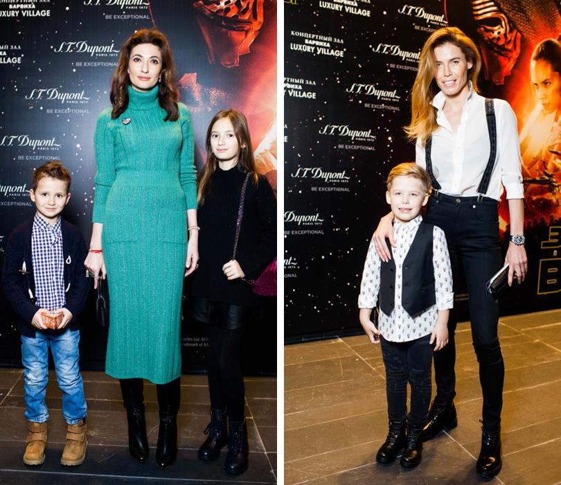 Снежана Георгиева с детьми, Ксения Якубовская