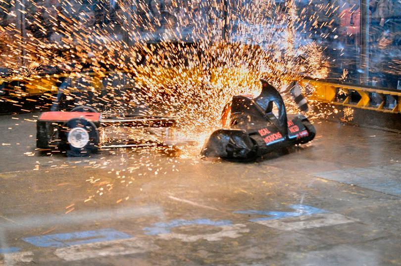 «Бронебот: Бои роботов — 2016» в «Олимпийском»