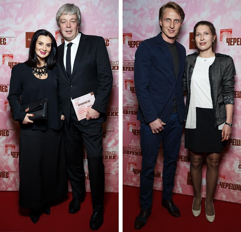 Екатерина и Александр Стриженовы. Иван Скобрев с женой Ядвигой