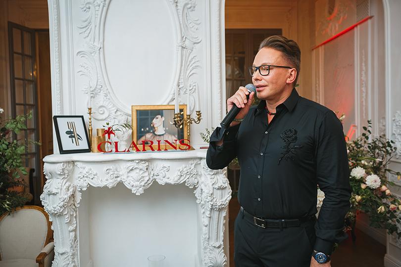 Эдгар Шабанов (Clarins Russia)