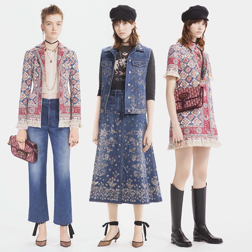 Style Notes: нео-богемный шик отМарии Грации Кьюри восенней коллекции Dior