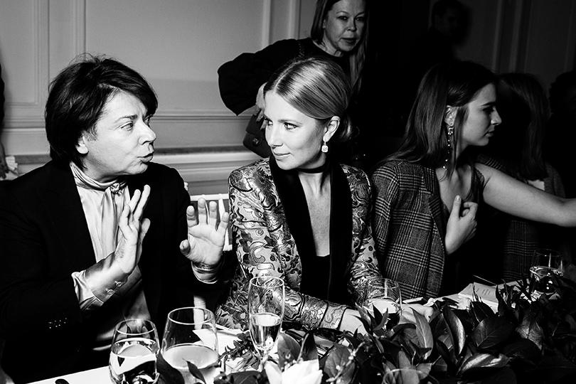 Закрытый ужин Vogue и бутика Farfetch: Валентин Юдашкин и Светлана Захарова
