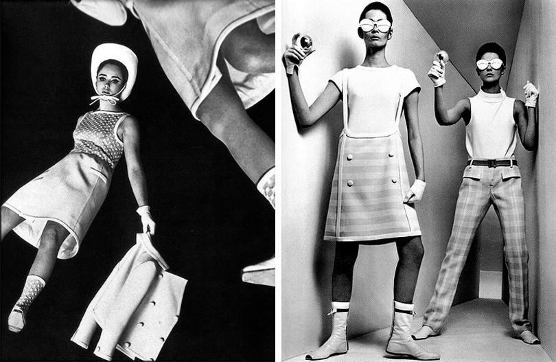 Образы из коллекции Андре Куррежа «Космический век»