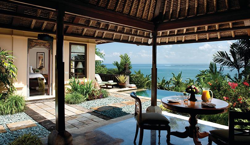 Отдыхаем на новых виллах Four Seasons Resort Bali