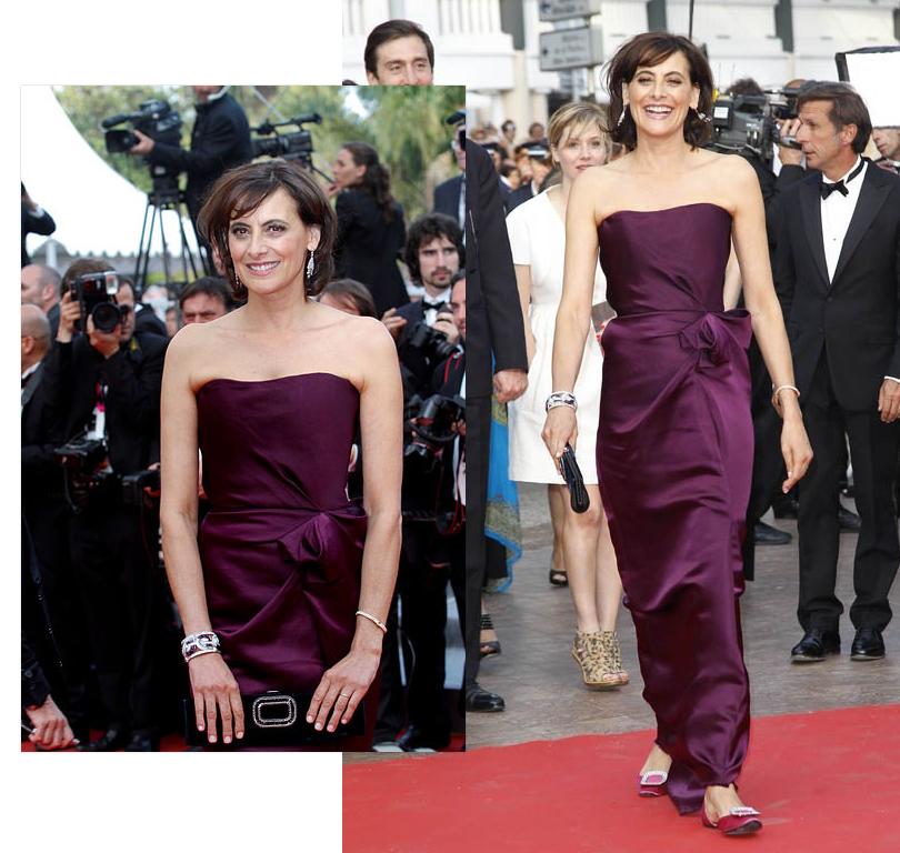 Style Notes: французский подход. Как выделиться на красной ковровой дорожке — и не только? Инес деляФрессанж вКаннах, 2011г.