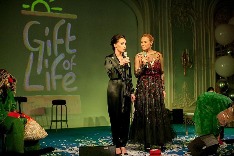 Соучредители фондов «Подари жизнь» и Gift of Life Чулпан Хаматова и Дина Корзун