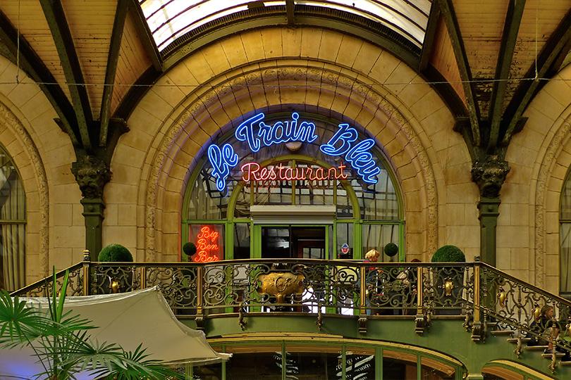 Набегу: лучшие рестораны ваэропортах инавокзалах. LeTrain Bleu