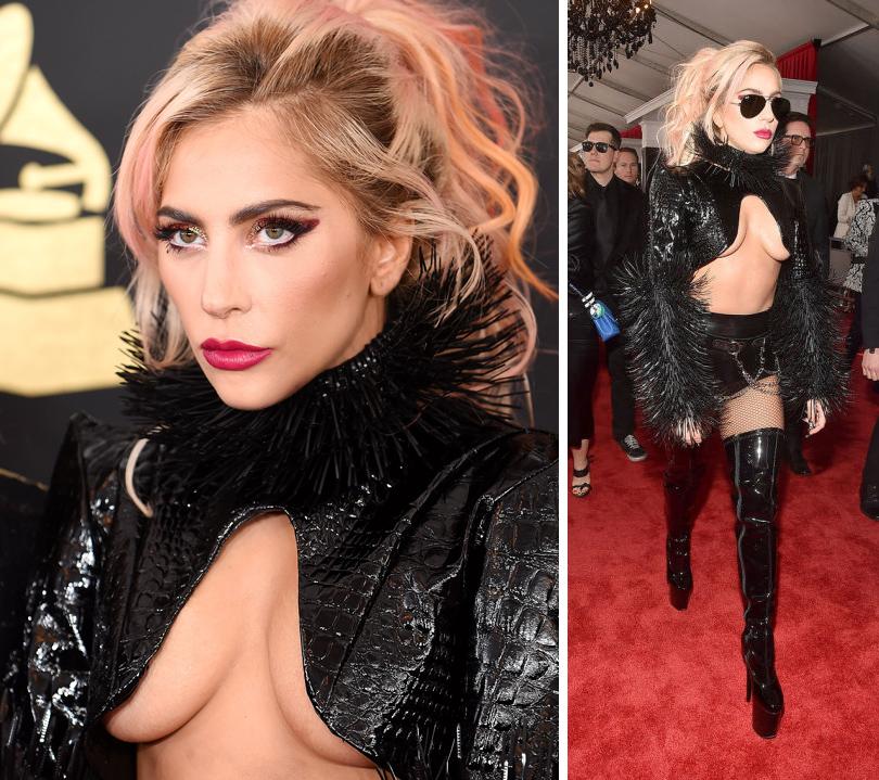 Total Beauty: лучшие звездные образы намузыкальной премии Grammy 2017. Леди Гага