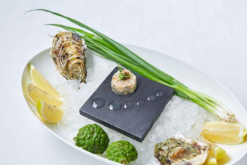 LeRestaurant: тартар изгребешков скрасной икрой