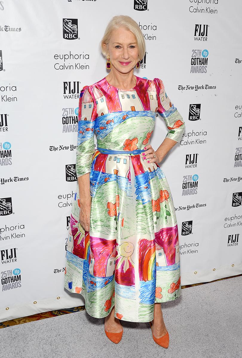 Хелен Миррен на Gotham Independent Film Awards