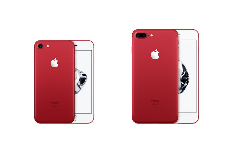 Компания Apple выпускает седьмой iPhone вкрасном цвете