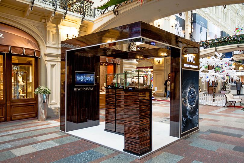 Идея дня: выставка часов мануфактуры IWC Schaffhause вГУМе