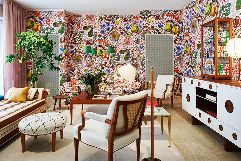 Шведский модернизм Йозефа Франка. Интерьер, наполненный уютом