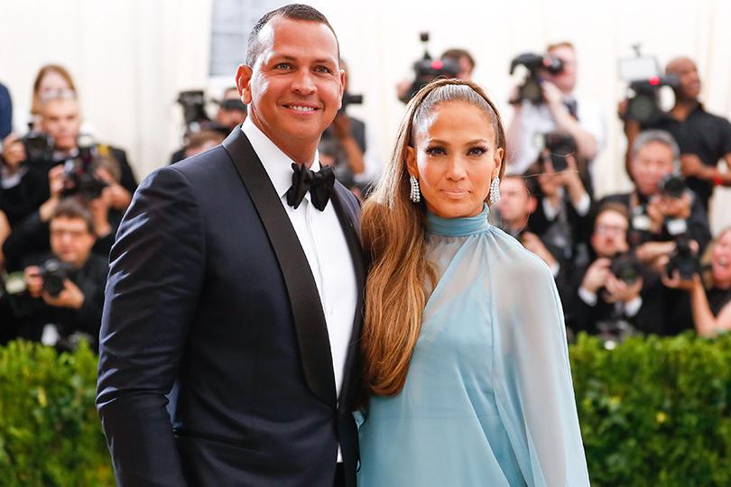 Пара недели: Дженнифер Лопес иАлекс Родригес наMet Gala 2017