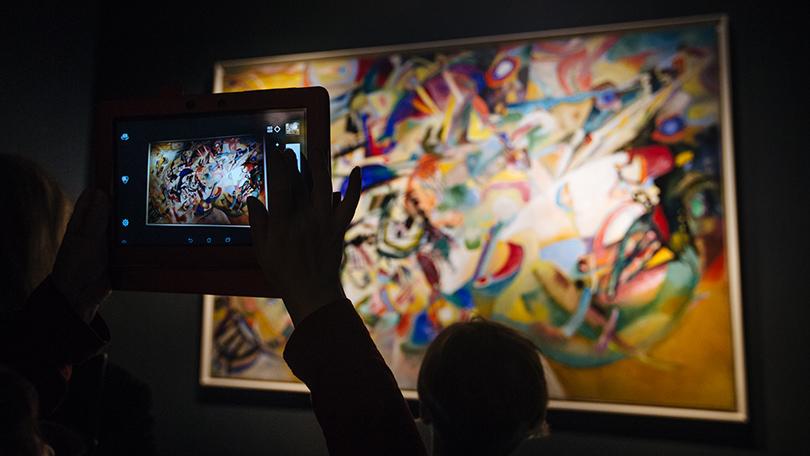 Art & More: Кандинский — при просмотре не забудьте выключить голову
