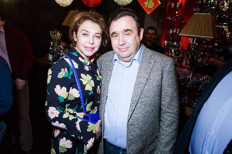 Открытие «Китайской грамоты» в Барвихе. Божена Рынска и Александр Раппопорт