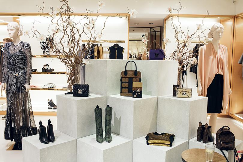 Коктейль Louis Vuitton послучаю запуска коллекции весна-лето 2017