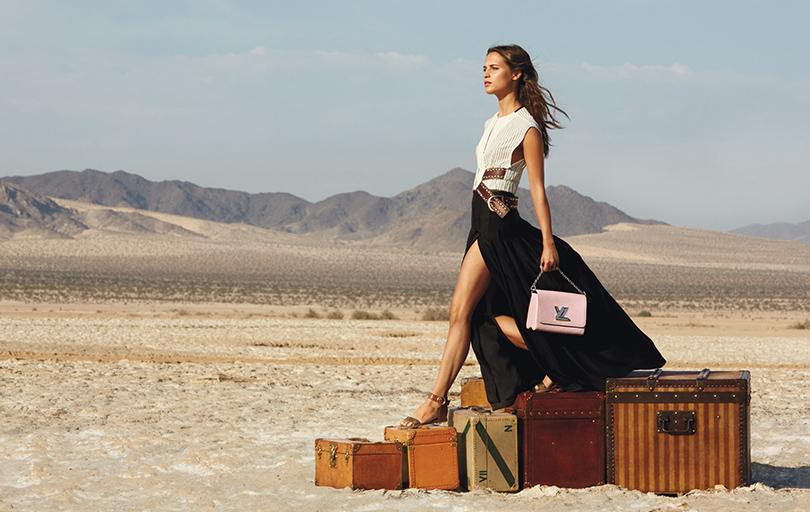 Алисия Викандер в рекламной кампании Louis Vuitton Cruise 2016