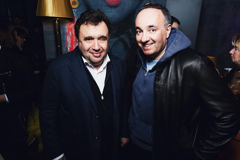 Александр Раппопорт и Александр Роднянский