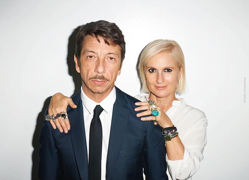 Пьерпаоло Пиччоли и Мария Грация Кьюри