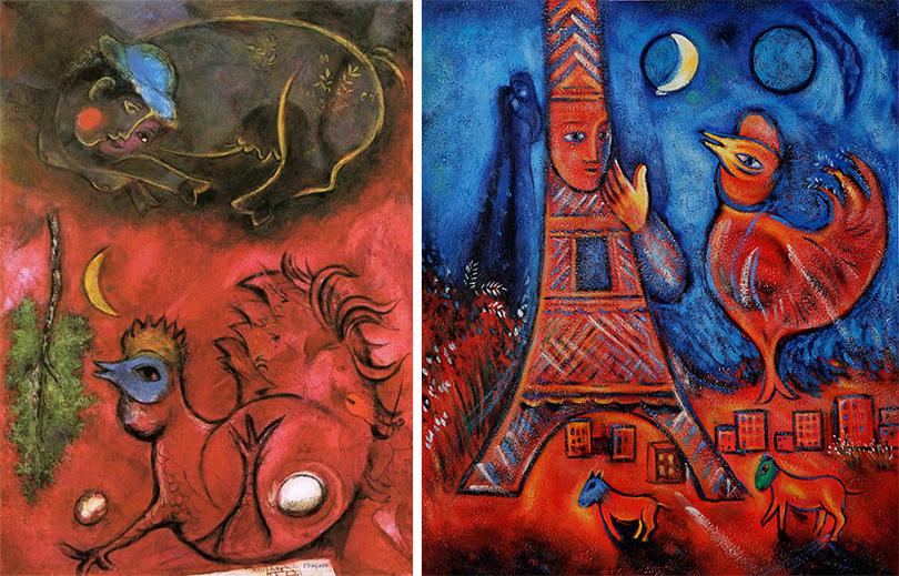 Art & More: шесть фактов о Марке Шагале, или Новые панно художника в Третьяковке. Факт 1— миф орождении Марка Шагала