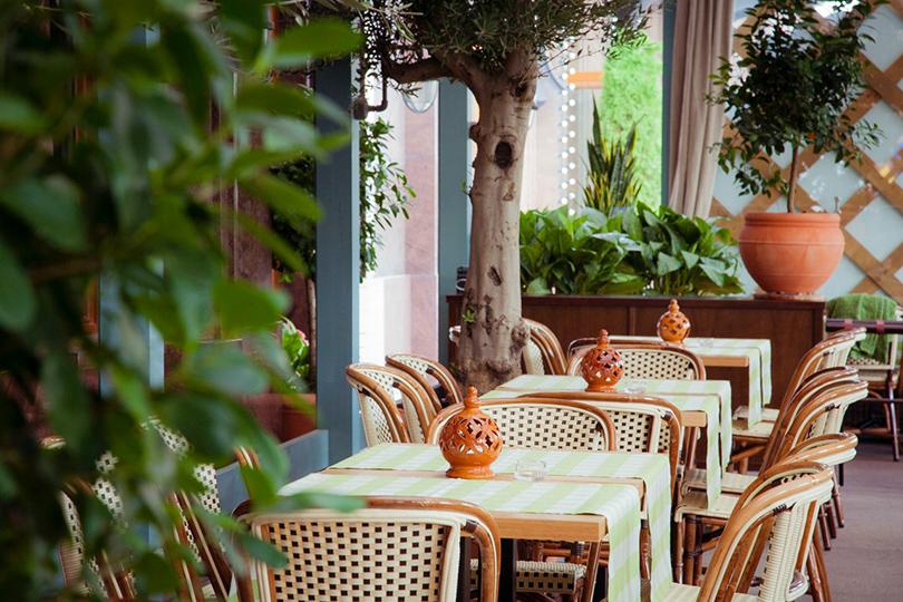 Выходные вгороде: летние веранды московских ресторанов. LaBottega Siciliana
