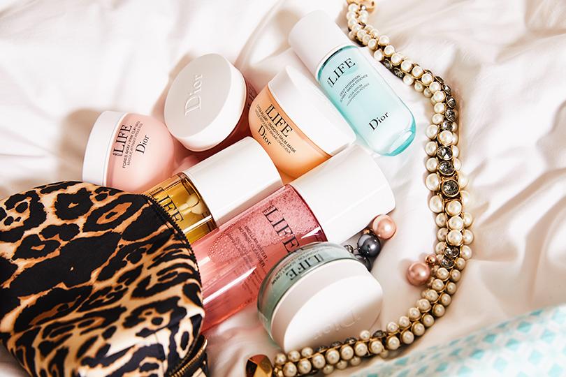 Продукты линии Dior Hydra Life и аксессуары Dior Couture