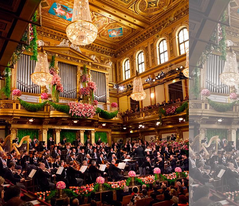 Новогодний концерт Венского филармонического оркестра… не выходя из дома