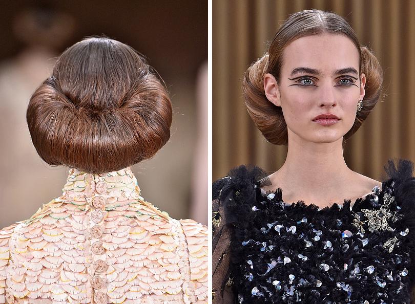 Уроки красоты с Евгенией Ленц: как повторить образы с показов парижской Недели высокой моды. Показ Chanel