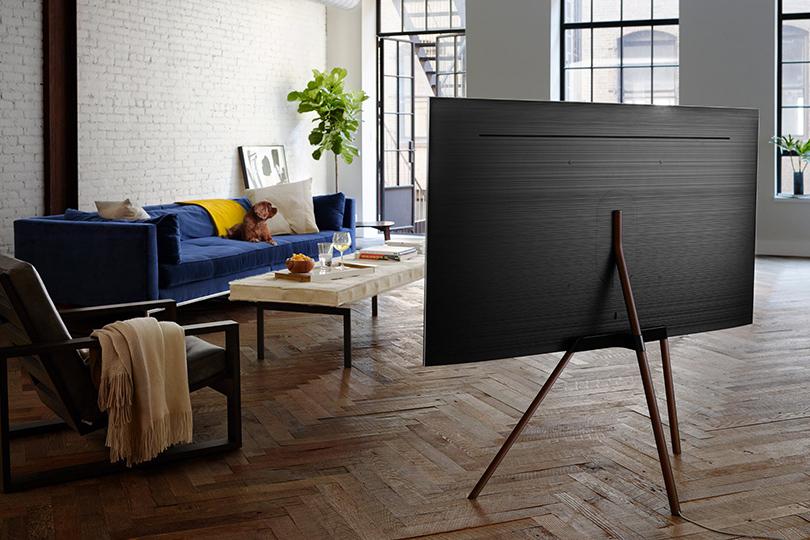Стой-ка! Конкурс Samsung ижурнала Dezeen насоздание лучшего дизайна ТВ-стенда