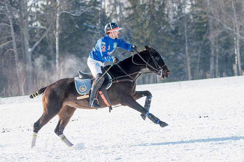 Sport & Lifestyle: Первый российско-швейцарский чемпионат по поло на снегу прошел в Целеево