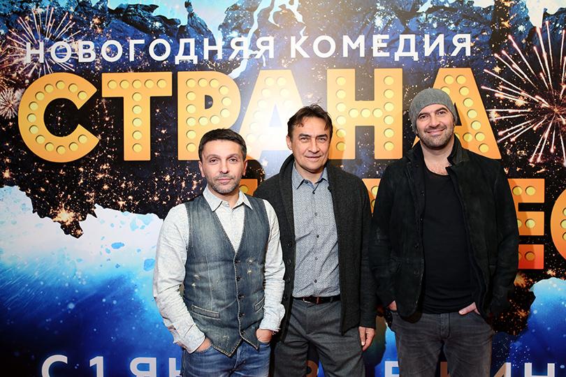 Леонид Барац, Камиль Ларин и Ростислав Хаит