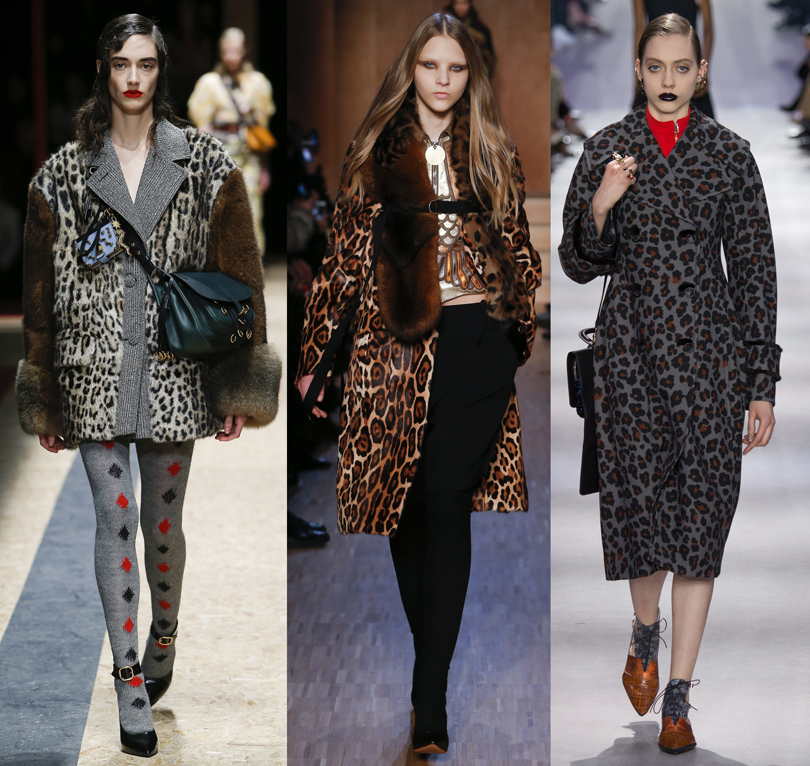 Prada, Givenchy, Christian Dior, осень-зима 2016/17
