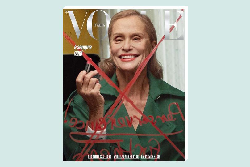 Третий возраст: новый номер Vogue Italia посвящен женщинам старше 60лет