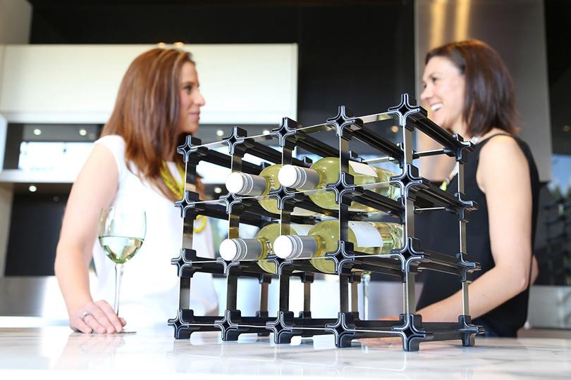 Дизайн & Декор: винные стеллажи и полки-конструкторы — для стильных интерьеров и модных вечеринок. Nook Wine Racks