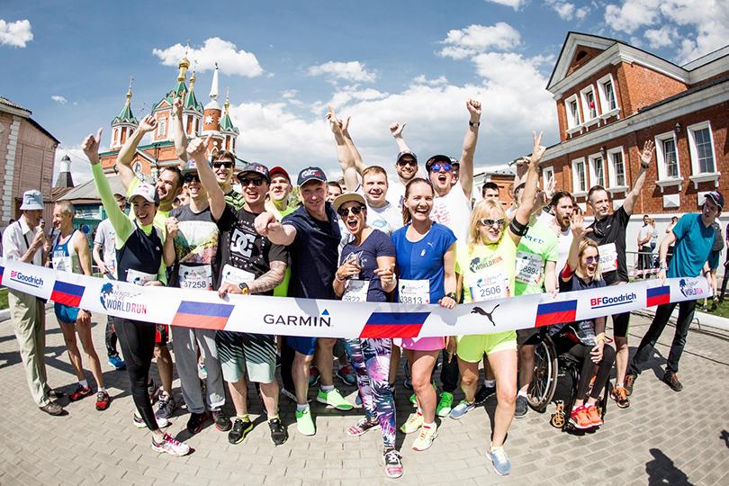 ВКоломне пройдет всемирный благотворительный забег Wings for Life World Run