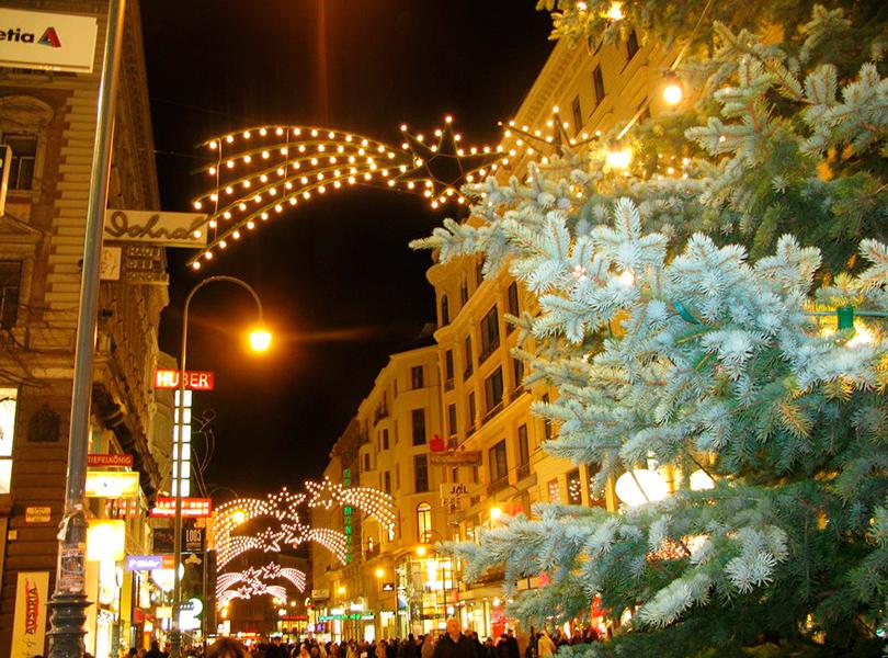 Самые лучшие рождественские базары Европы: Вена
