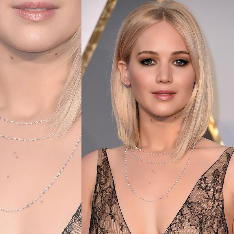 Ювелирные украшения звезд на церемонии «Оскар-2016»: Дженнифер Лоуренс в Chopard