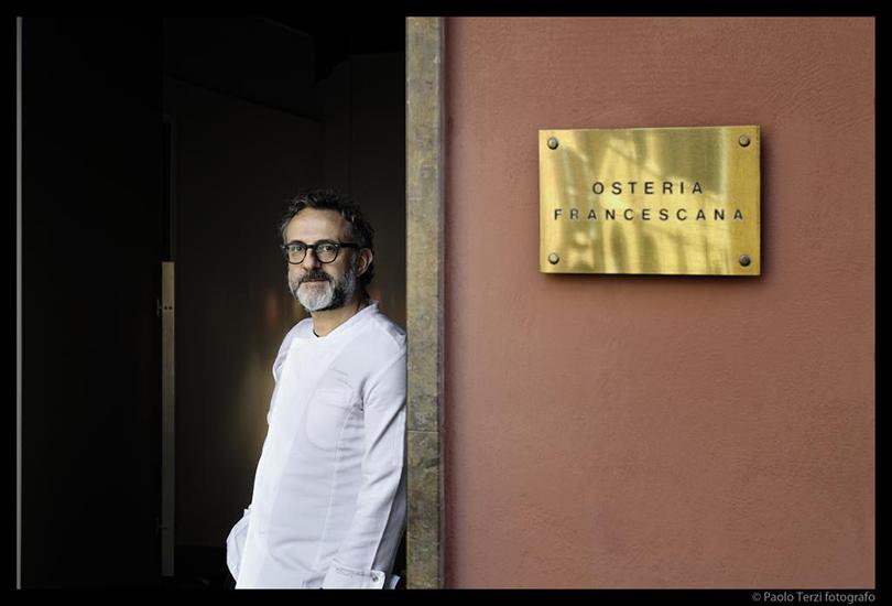 Победители The World's 50 Best Restaurants. Шеф Массимо Боттура — Osteria Francescana, Модена (Италия)