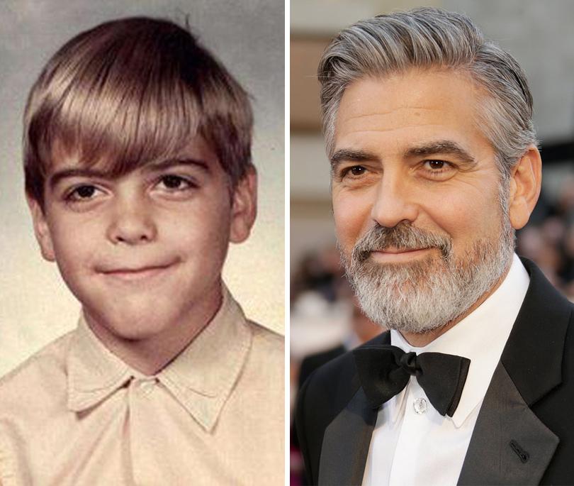 Men inStyle: как превратиться изгадкого утенка всказочного принца. 7историй успеха. Джордж Клуни
