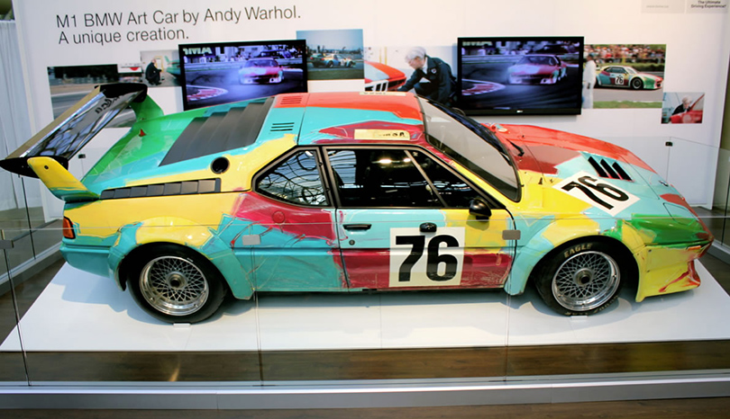 Энди Уорхол. Арт-кар BMW M1, 1979г.