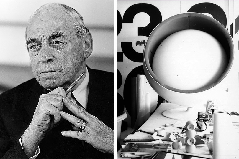 Архитектор Алвар Аалто.1970 Ээро Аарнио. Кресло-шар (1963) икресло Pastil (1967)