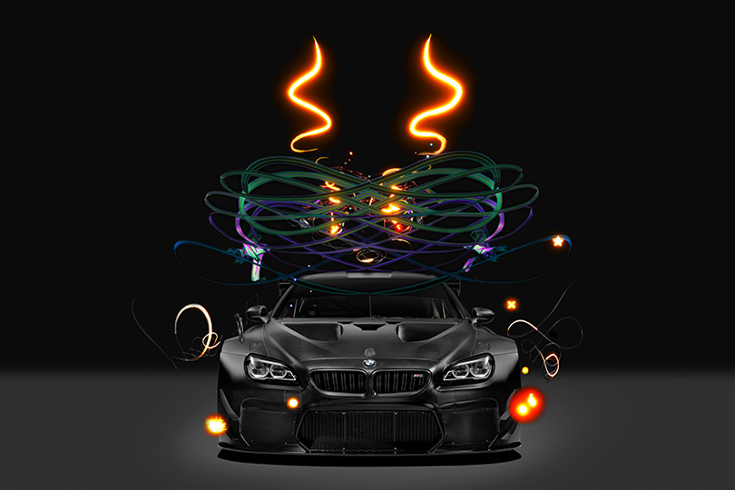 Соскоростью мысли: коллекция BMW Art Car пополнилась новым уникальным экспонатом